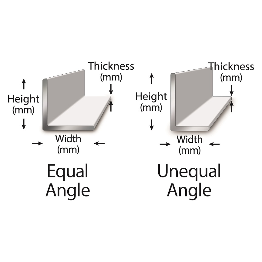 Hot Rolled & Cold Drawn Metric Angles   Metric Metal