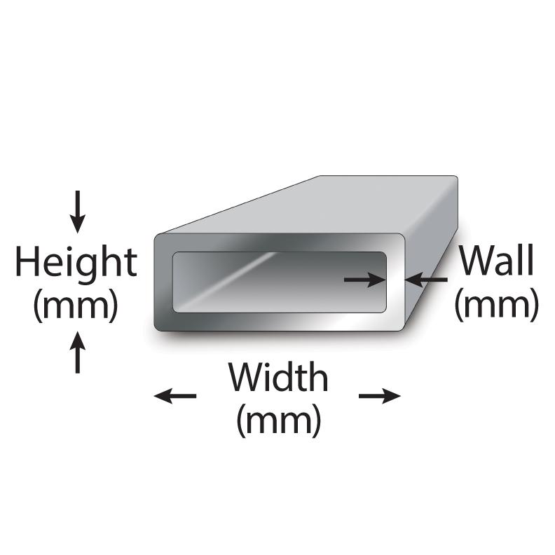 Metric Carbon Steel Rectangular Tube Grades | Metric Metal