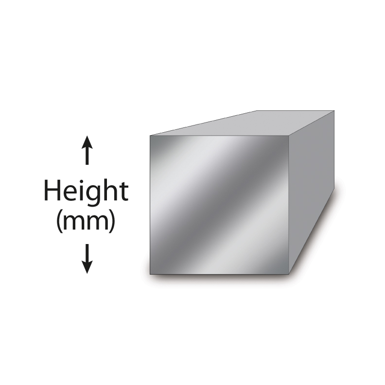 STAINLESS STEEL SQUARE BAR 303